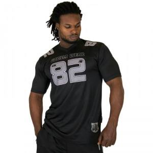 Gorilla Wear Men Fresno Tee, black/grey, medium
