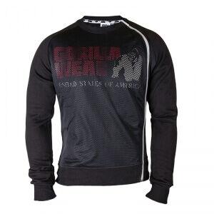 Gorilla Wear Men Memphis Mesh Sweatshirt, svart, Gorilla Wear