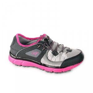 2117 of Sweden Kalmar Running Shoe, black/cerise, 2117