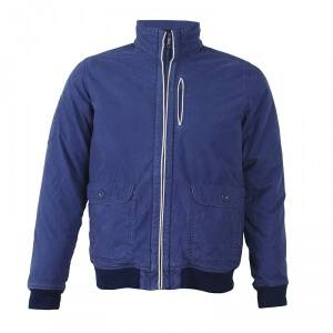 2117 of Sweden Axvall Cotton Street Jacket, navy, 2117