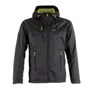 2117 of Sweden Lidköping Hybrid Outdoor Jacket, black, large