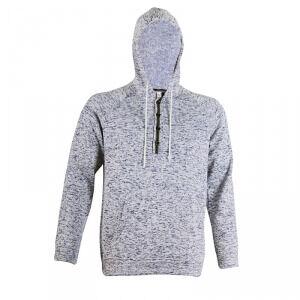 2117 of Sweden Ljungby Wave Fleece Hood, navy, medium