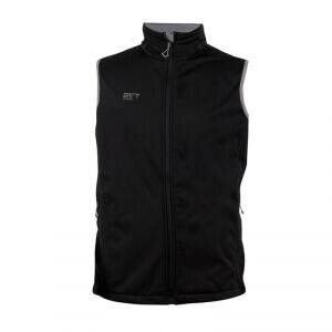 2117 of Sweden Skratten Softshell Vest, black, medium