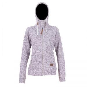 2117 of Sweden Grolanda Wave Fleece Jacket, dark lavender, 34