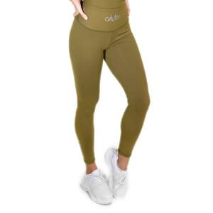 Gavelo POP Scrunch Tights, army green, Gavelo