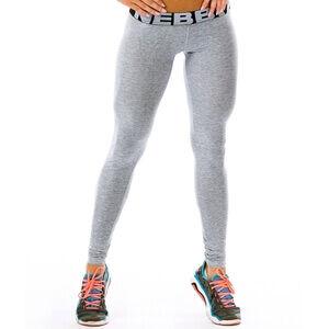 Nebbia Scrunch Butt Tights, light grey, Nebbia