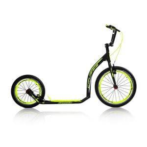 Crussis Sparkcykel Active 4.4, black/yellow, Crussis