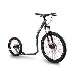 inSPORTline Sparkcykel Cross 6.3, anthracite, Crussis