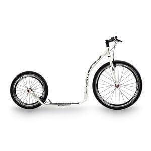 Crussis Sparkcykel Urban 4.1, white/black, Crussis