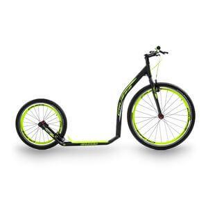 Crussis Sparkcykel Urban 4.2, black/yellow, Crussis