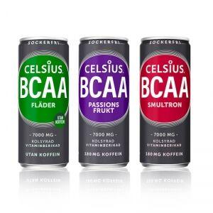 Celsius BCAA, 330 ml, Fläder