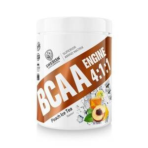 Image of Swedish Supplements BCAA Engine 4:1:1, 400 g, Peach Ice Tea