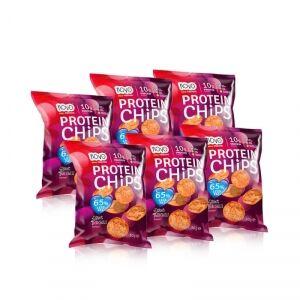 NOVO Nutrition Protein Chips, 6-pack, NOVO Nutrition