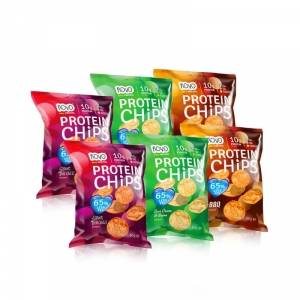 NOVO Nutrition Protein Chips Mixpaket, 6-pack, NOVO Nutrition