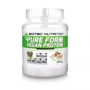 Scitec Nutrition Pure Form Vegan Protein, 450 g, Hazelnut/Toffee