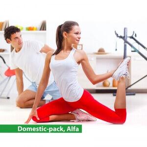 Training-pack Hemträningspaket Alfa