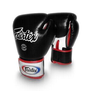 Fairtex Boxhandske BGV 1, black/white/red, 10 oz