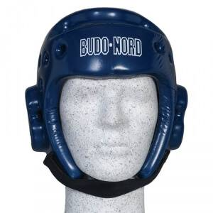 Budo-Nord Huvudskydd Taekwondo-hjälm, blå, Budo-Nord