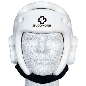 Budo-Nord Huvudskydd Taekwondo-hjälm, vit, Budo-Nord