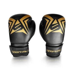 SportMe Boxhandske Gold Junior, black/gold, SportMe