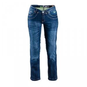 W-TEC Womens MC Jeans B-2012, bright blue, W-TEC