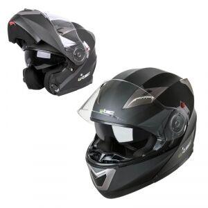 W-TEC Motorcykelhjälm YM-925, matte black, W-TEC