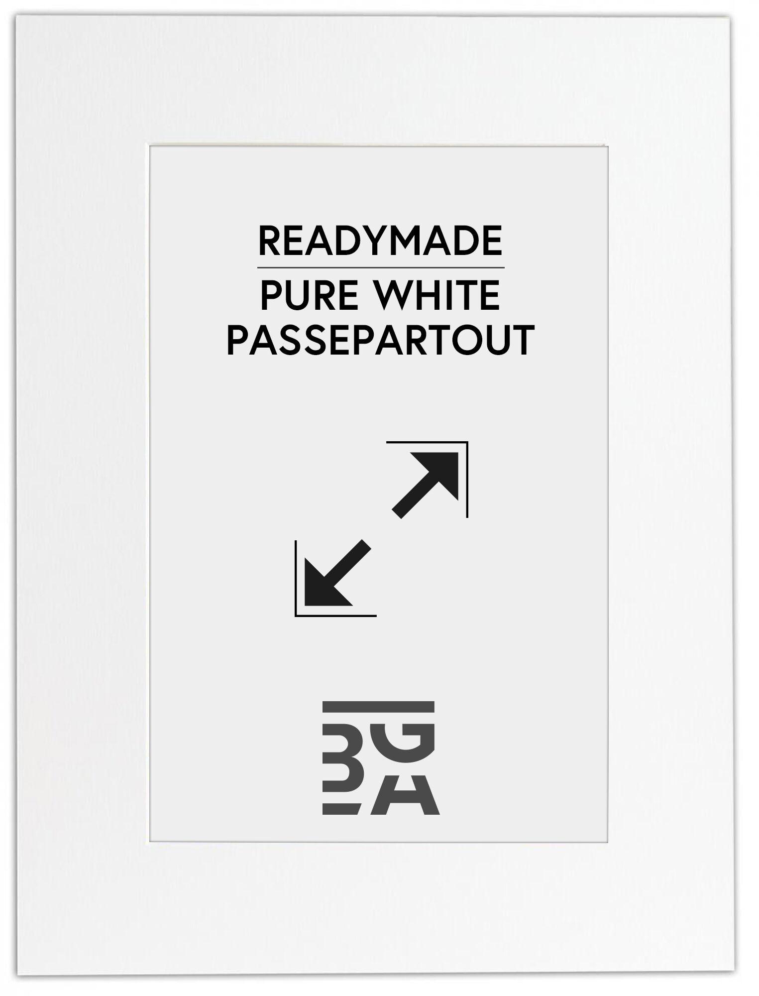 Image of Galleri 1 Paspatuuri Puhtaan valkoinen A4 21x29,7 cm (14x19,5 cm)