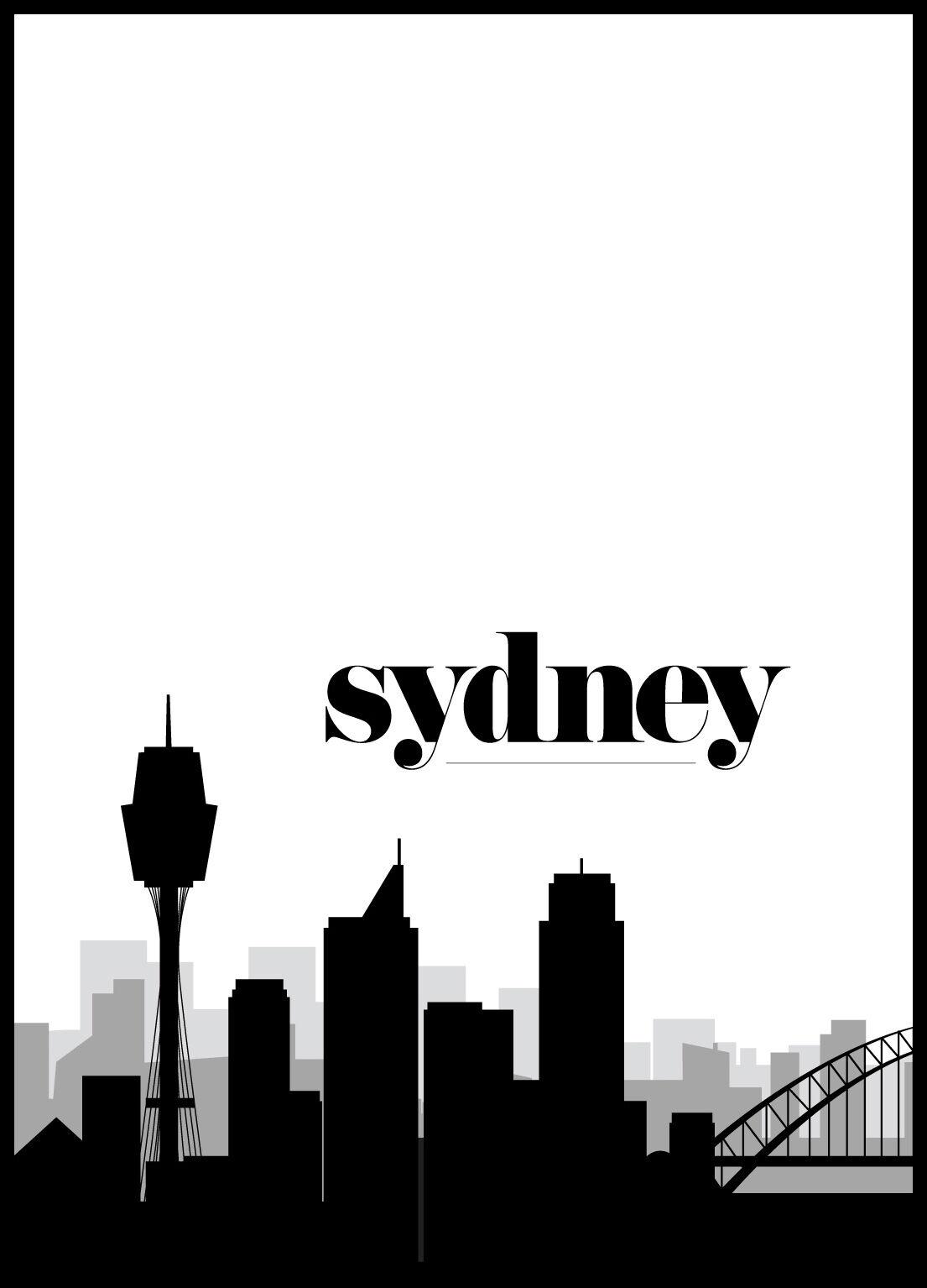 Bildverkstad Sydney Skyline II