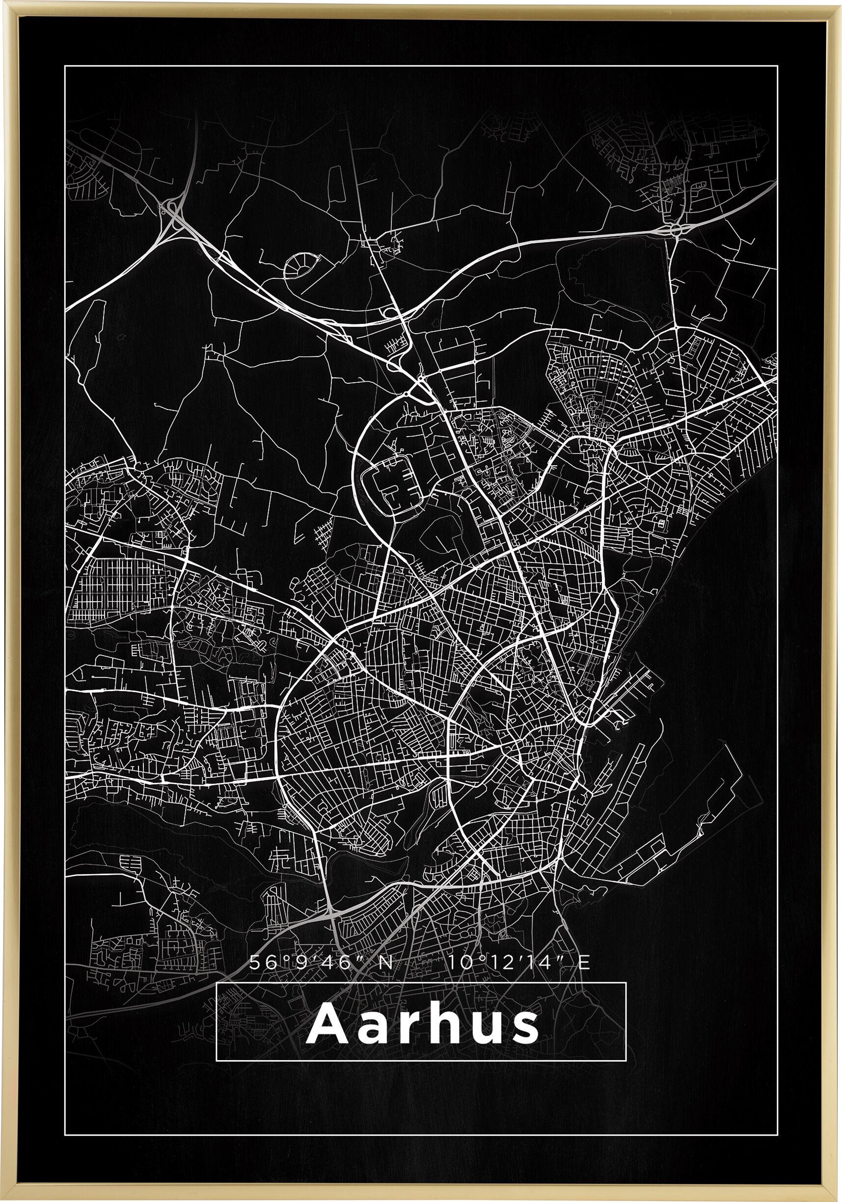 Bildverkstad Map - Aarhus - Black