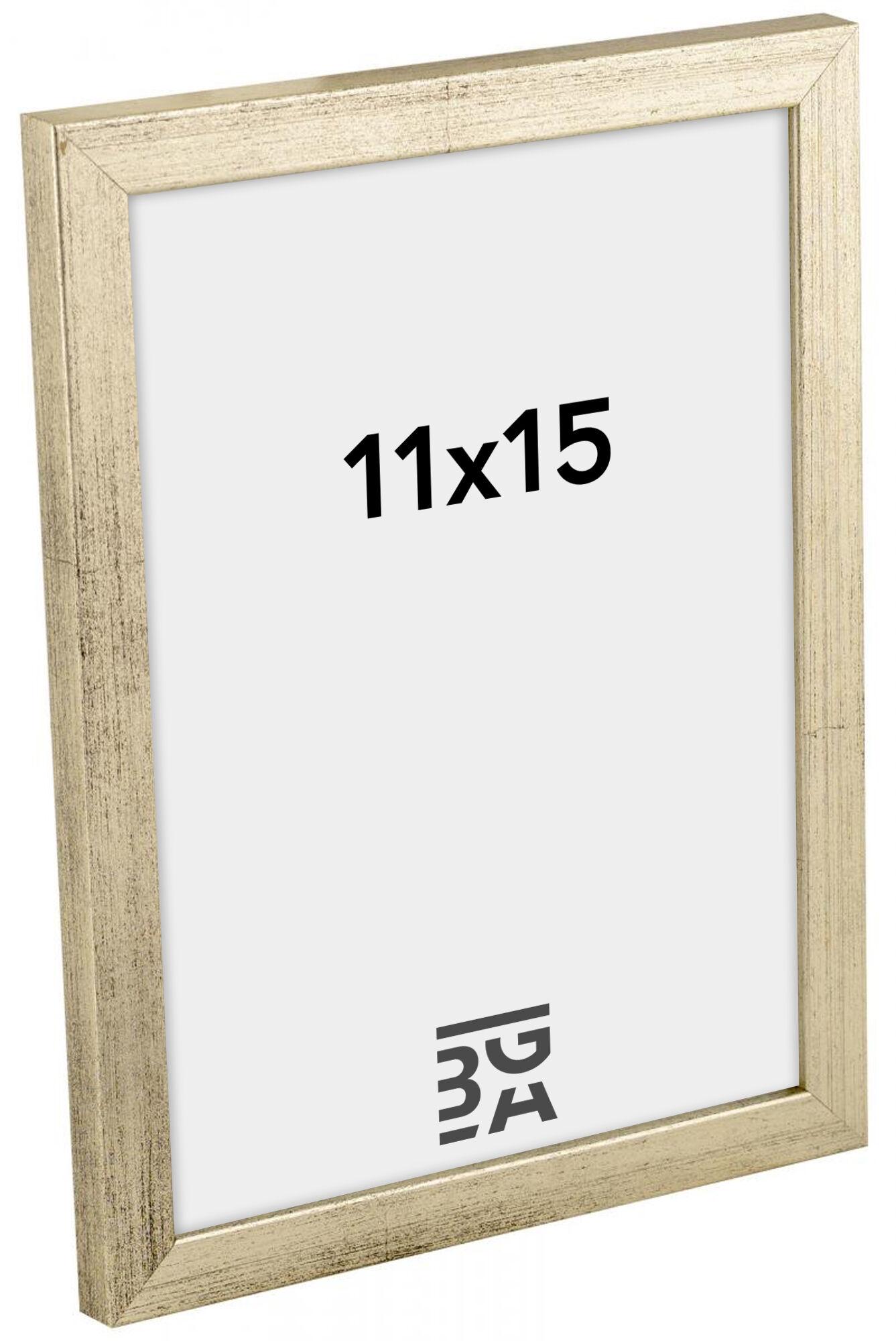 Estancia Galant Hopeanvärinen 11x15 cm