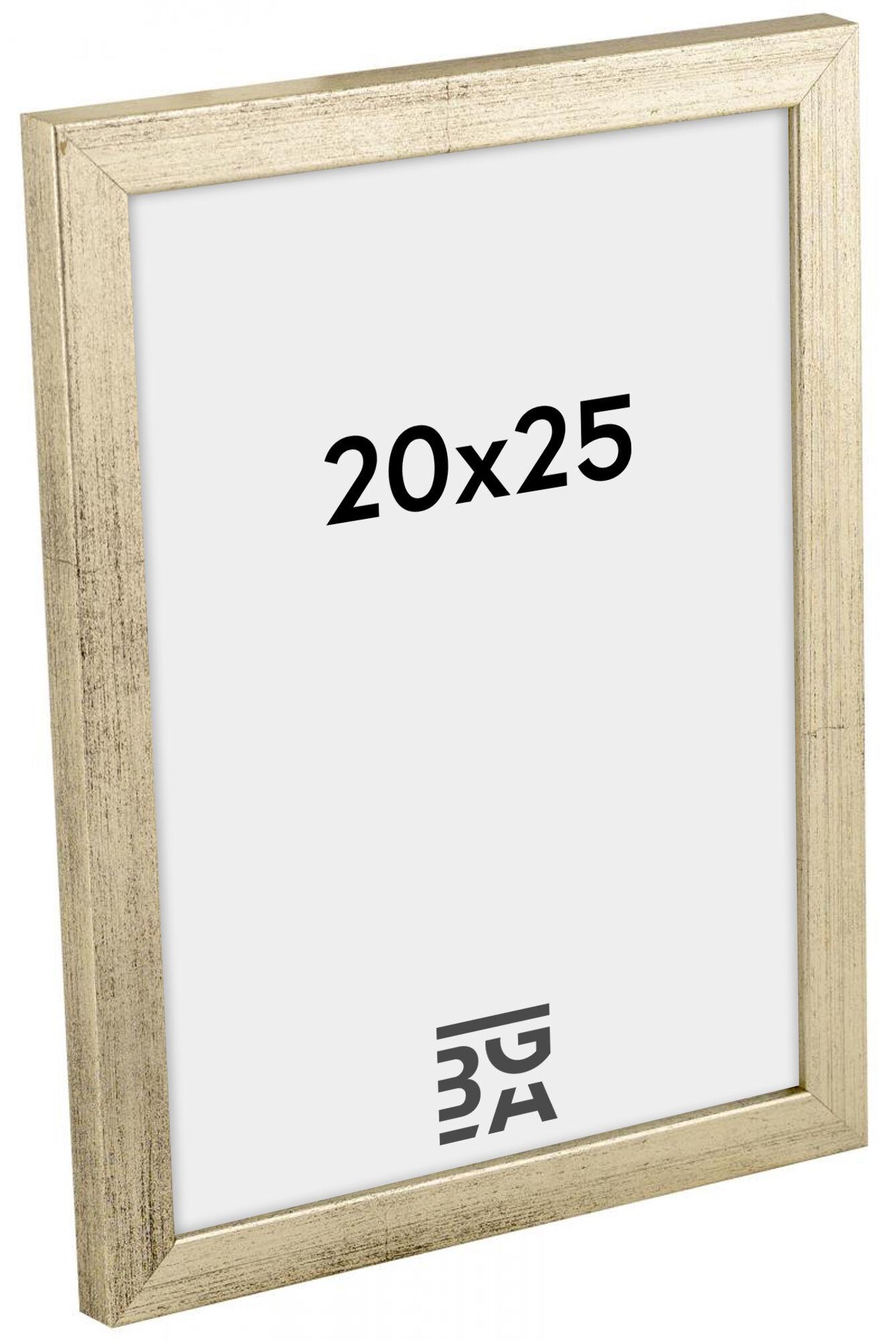 Estancia Galant Hopeanvärinen 20x25 cm