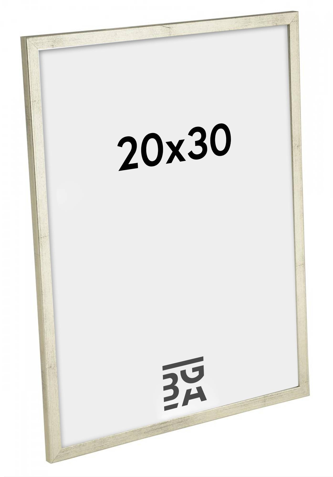 Estancia Galant Hopeanvärinen 20x30 cm