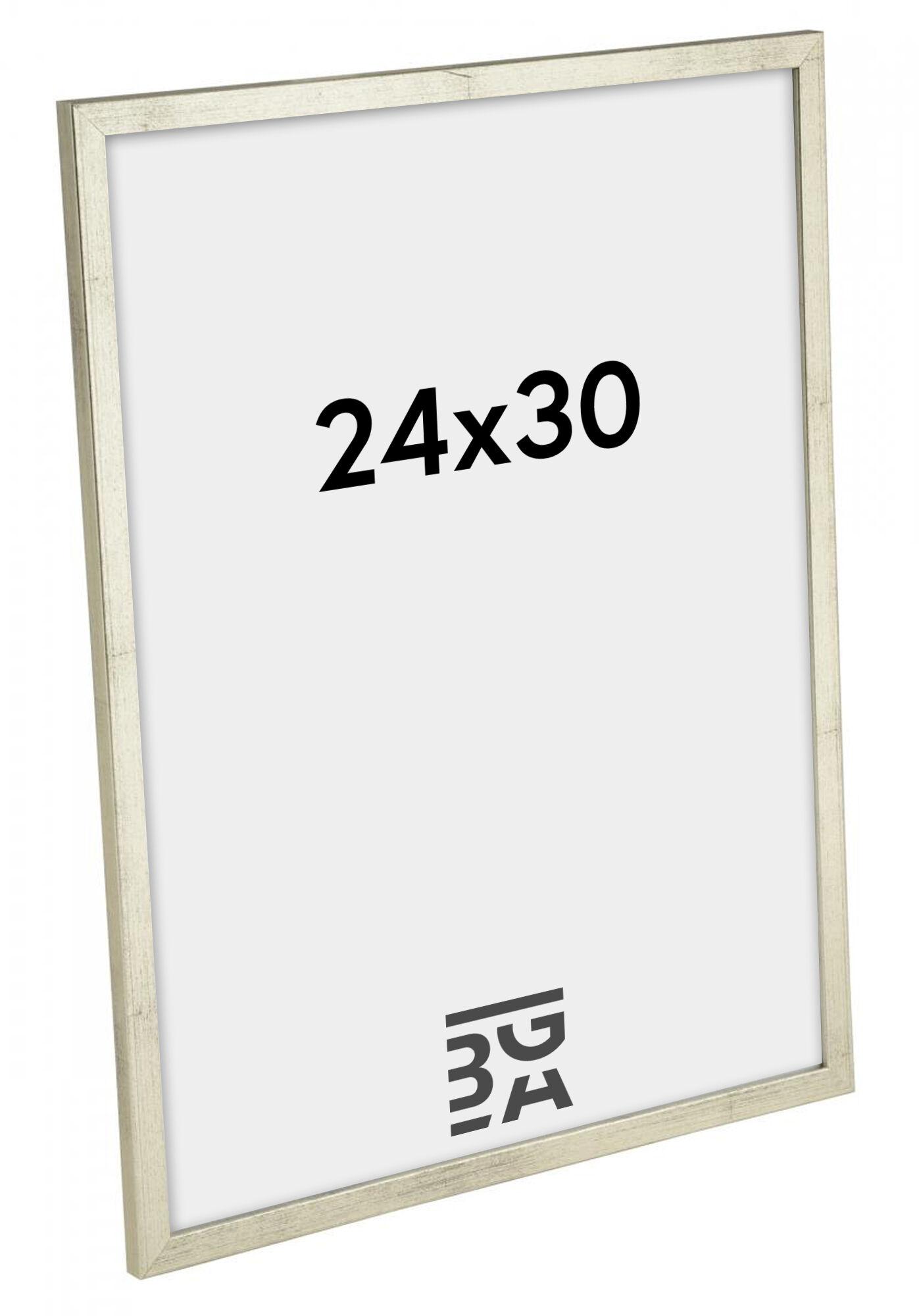 Estancia Galant Hopeanvärinen 24x30 cm