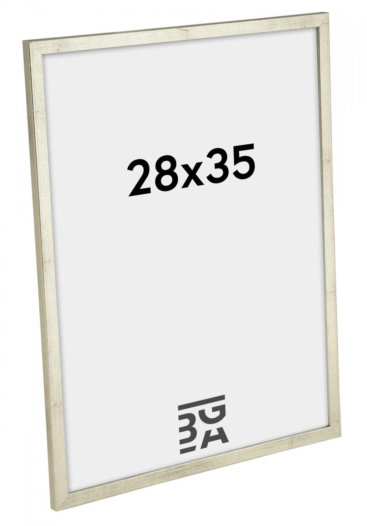 Estancia Galant Hopeanvärinen 28x35 cm