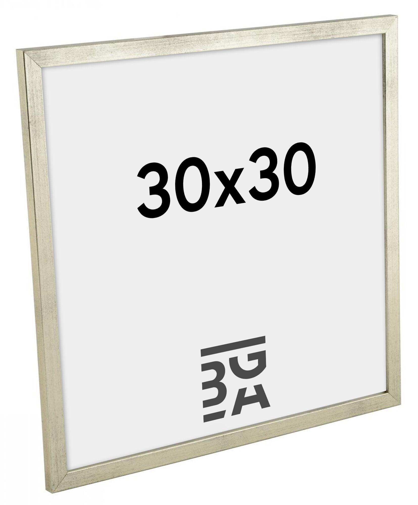 Estancia Galant Hopeanvärinen 30x30 cm