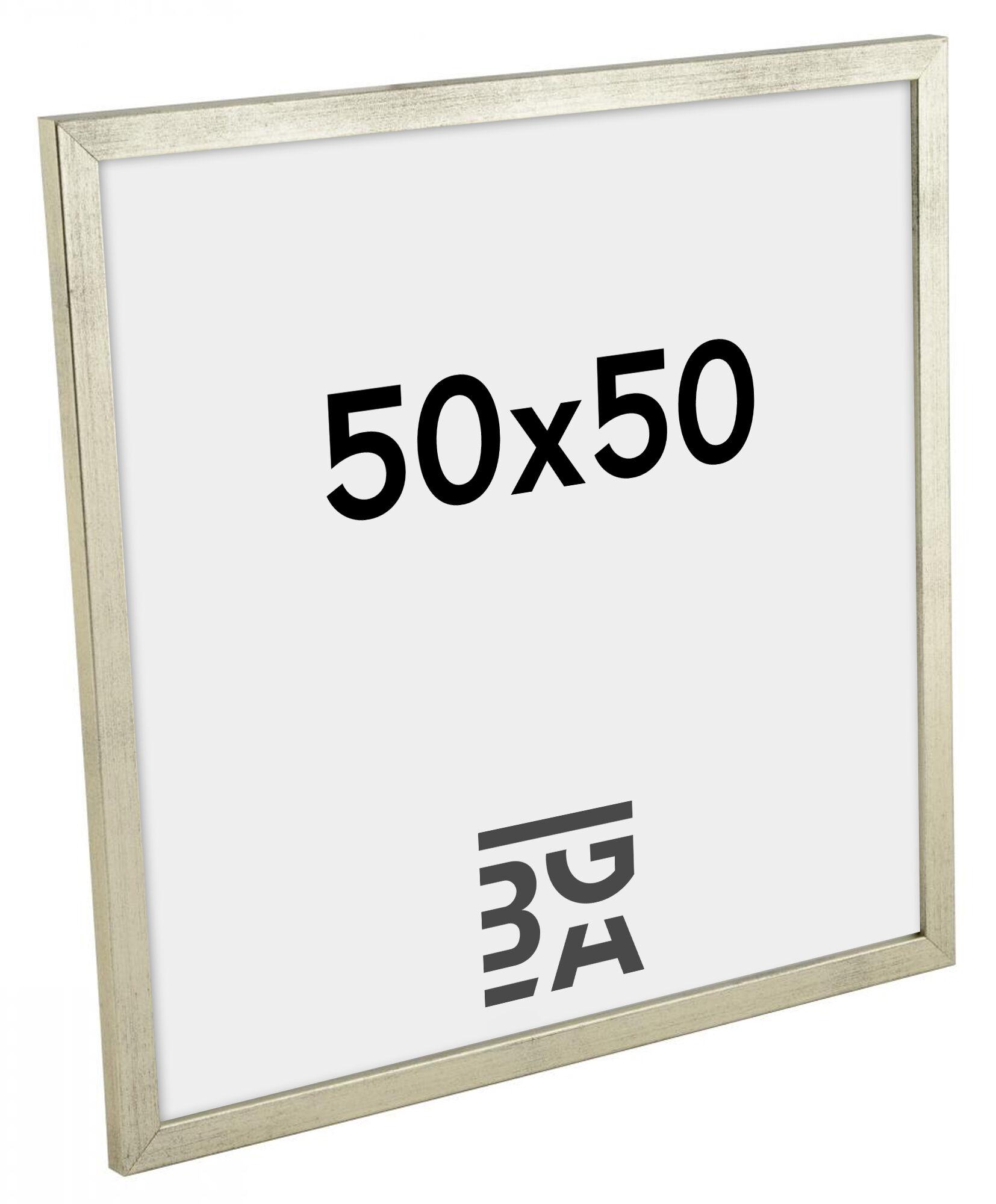 Estancia Galant Hopeanvärinen 50x50 cm