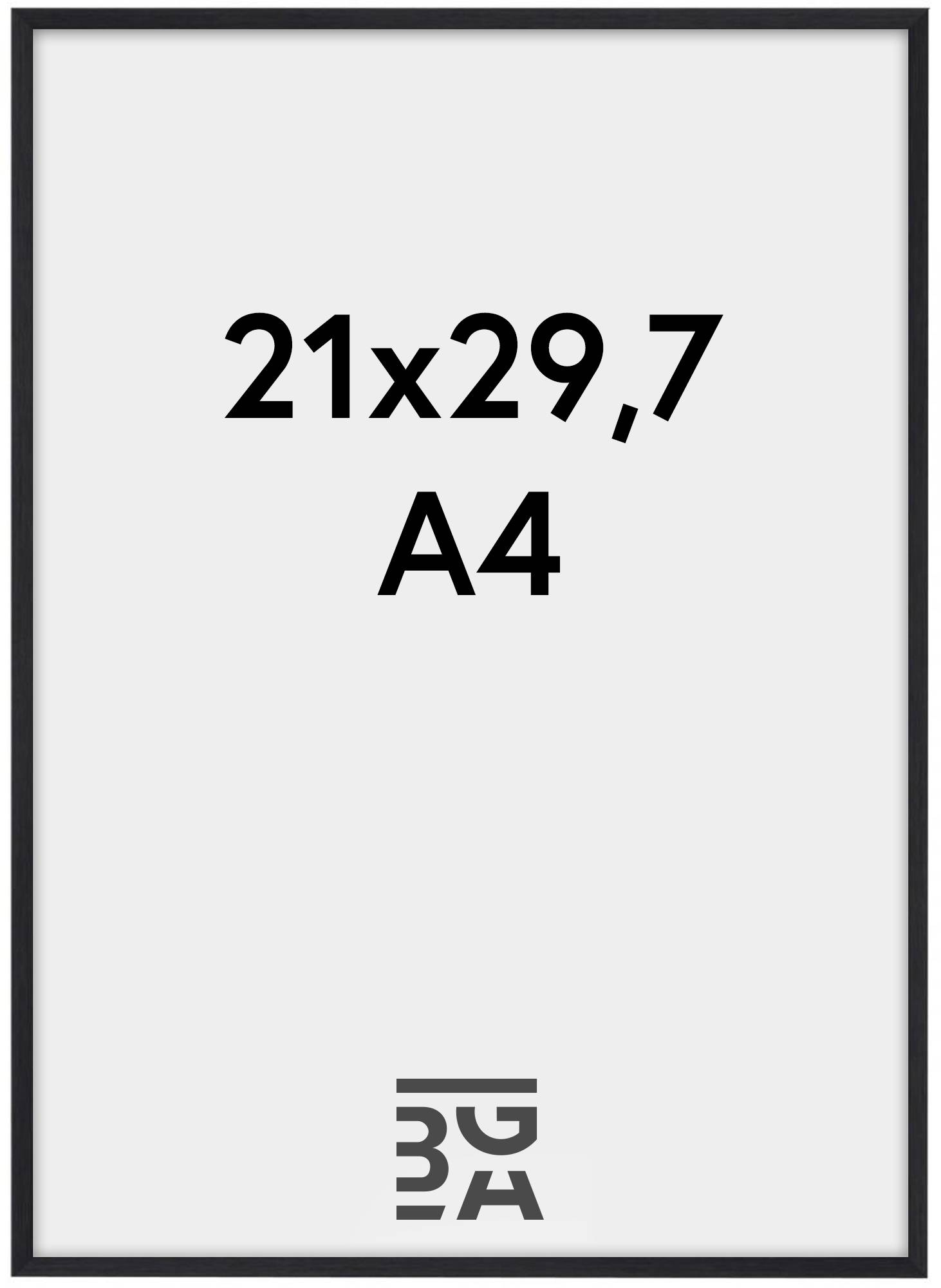 Estancia Galant Pleksilasi Musta 21x29,7 cm (A4)