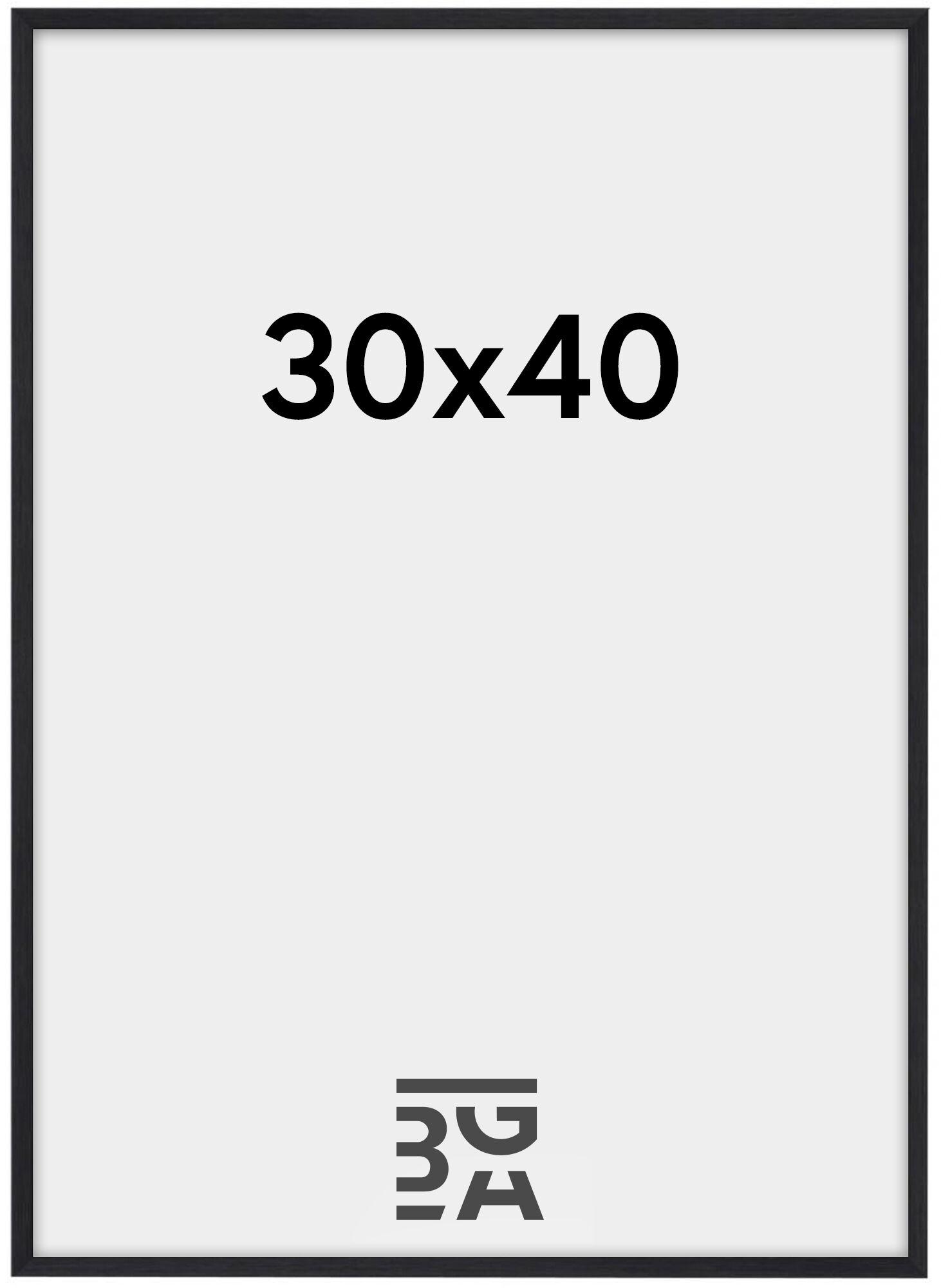 Estancia Galant Pleksilasi Musta 30x40 cm