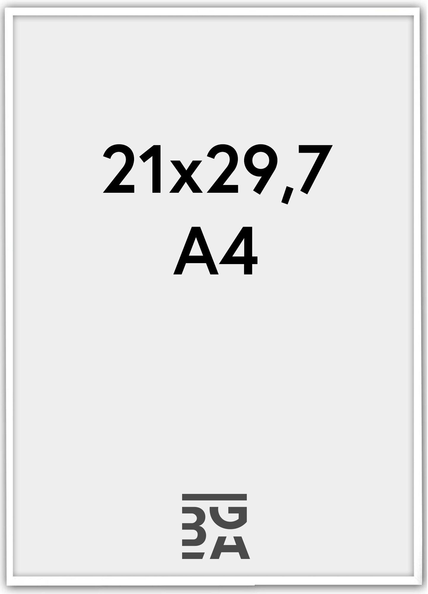 Estancia Galant Pleksilasi Valkoinen 21x29,7 cm (A4)