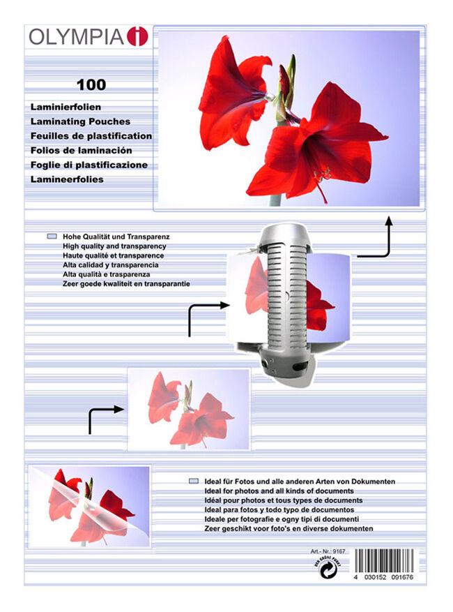 Difox Olympia Laminaatti DIN A5 80 Micron - 100 kpl