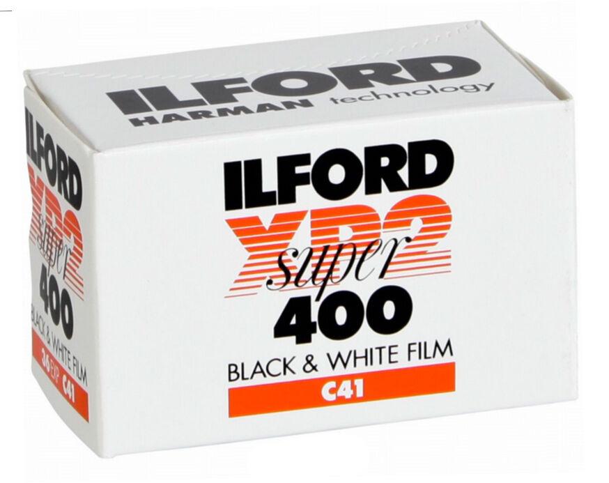 Focus Ilford XP2 Super B&W (C41) 400 135/36