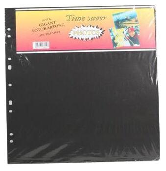 Albumilehti Timesaver Gigant - 10 Mustaa arkkia