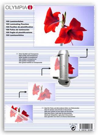 Difox Olympia Laminaatti DIN A4 125 Micron - 100 kpl