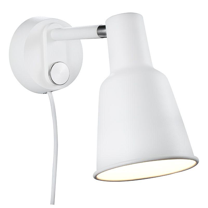 Nordlux Patton Valkoinen LED Vuodevalaisin