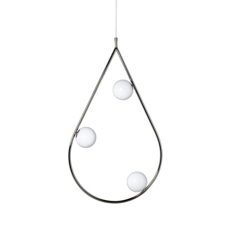 Pholc Pearls 80 Nikkeli 3-L Riippuvalaisin
