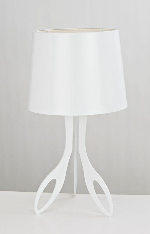 Texa Design Carla Valkoinen 39cm Pöytävalaisin