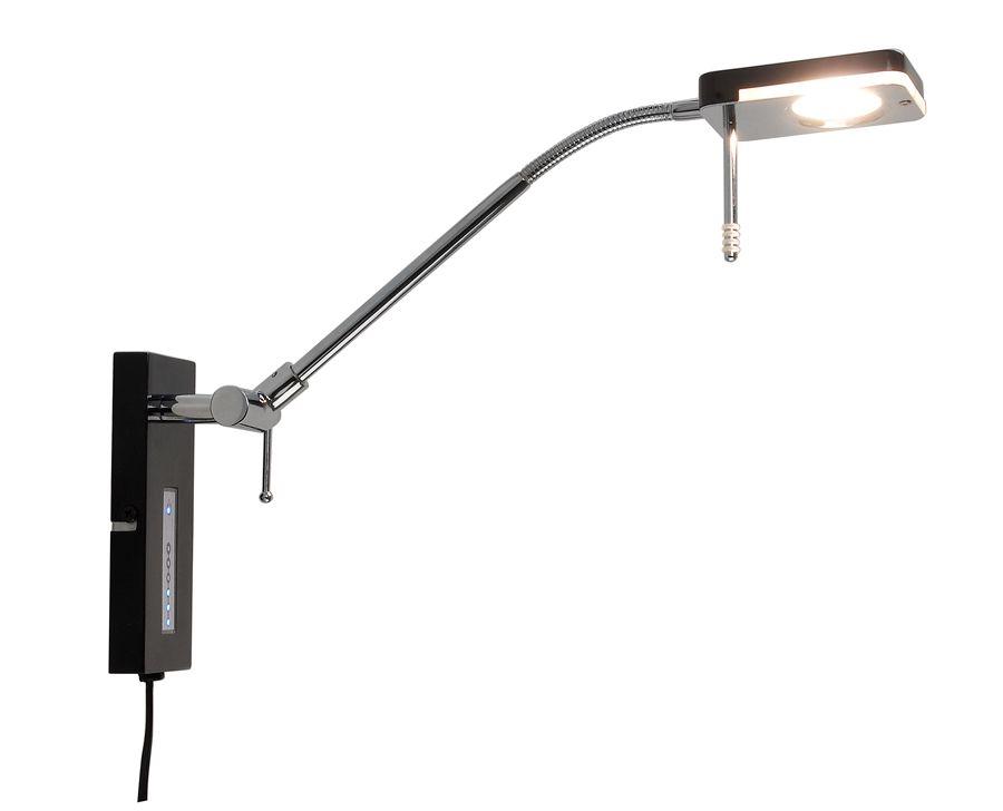 Texa Design Monza Musta LED Vuodevalaisin