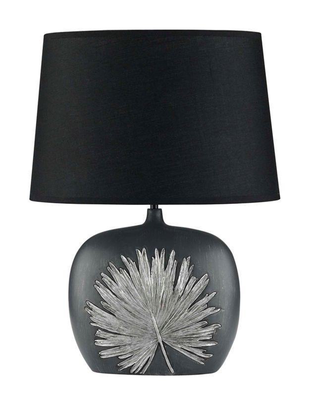 Texa Design Reus Musta/Hopea Pöytävalaisin
