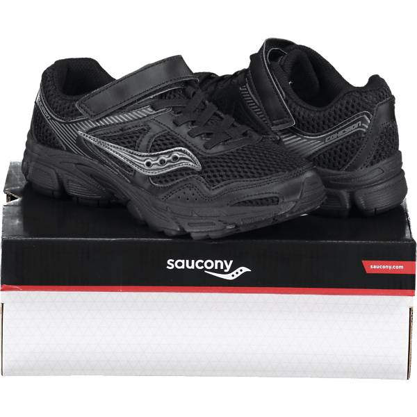 Saucony So Cohesion 10 Jr Juoksu- & treenikengät BLACK/GREY  - BLACK/GREY - Size: 1