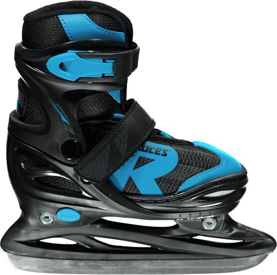 Roces So Jokey Ice Ad Jr Pihapelit BLACK/BLUE  - BLACK/BLUE - Size: 26-29